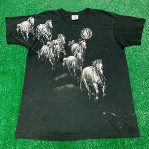 Vintage 90s Wildhorse Saloon Single Stitch Shirt